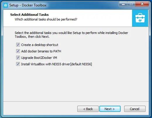 Install Docker on windows 7 system