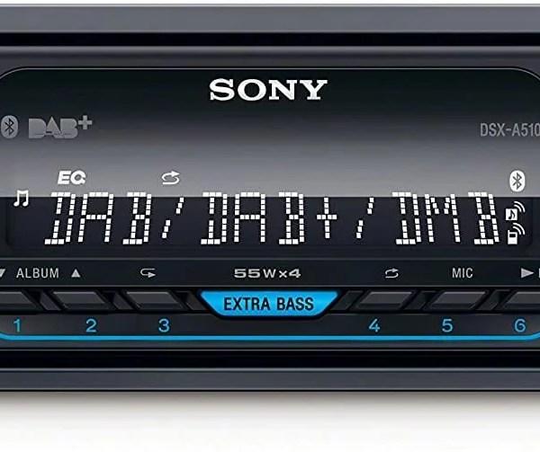 Sony DSX-A510 DAB autórádió