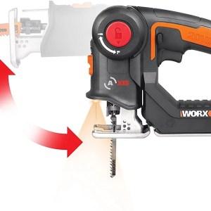 Worx WX550 akkus szúró és kardfűrész