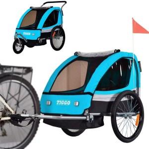 TIGGO BT504-D03 gyermek 2 az 1-ben kerékpár pótkocsi