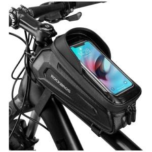 ROCKBROS vízálló telefontartó táska-fekete