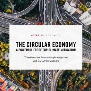 The Circular Economy - a Powerful Force for Climate Mitigation
