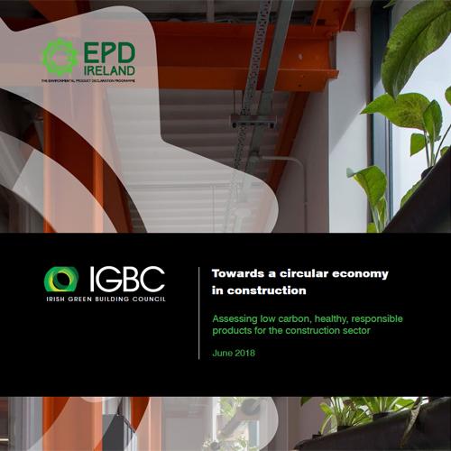 Towards a circular economy in construction