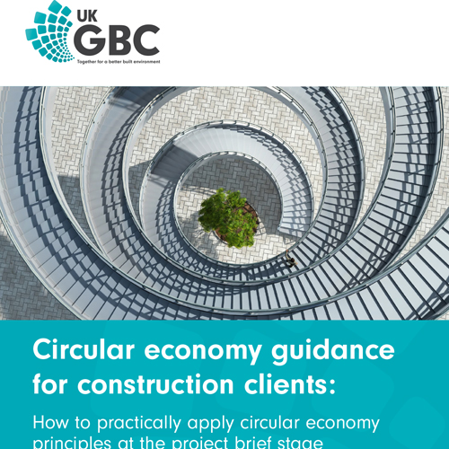 UKGBC launch circular economy guidance