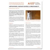 Airtightness, Vapour Control and Breathability