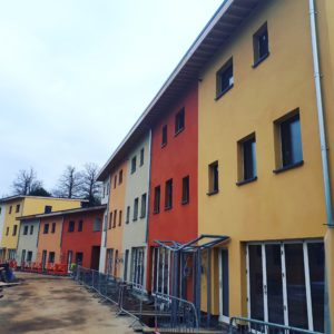Lime Green provide products for sustainable co-housing scheme