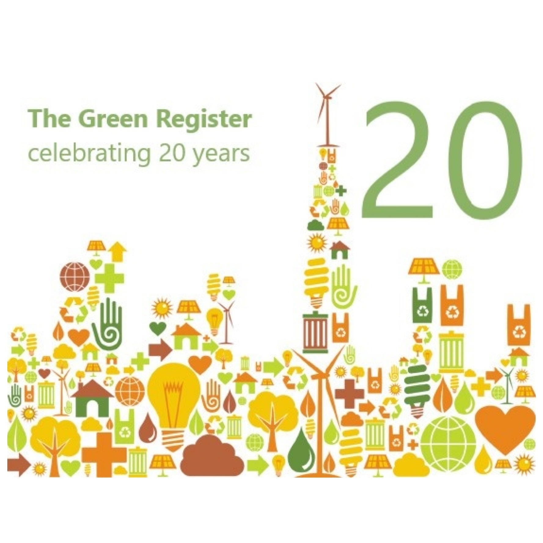 The Green Register - celebrating 20 years!
