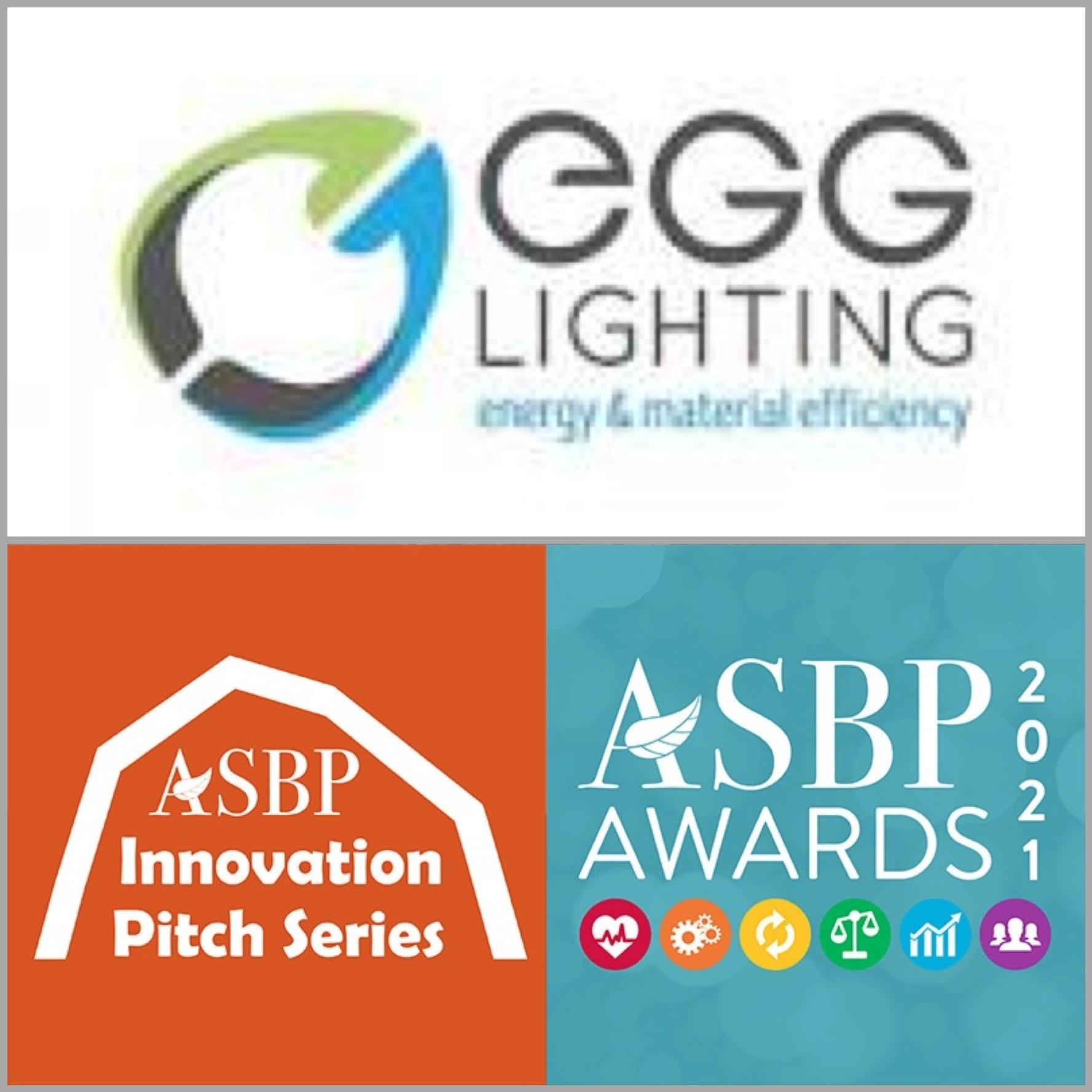 EGG Lighting shortlisted for both ASBP Awards and ASBP Innovation Pitch Series