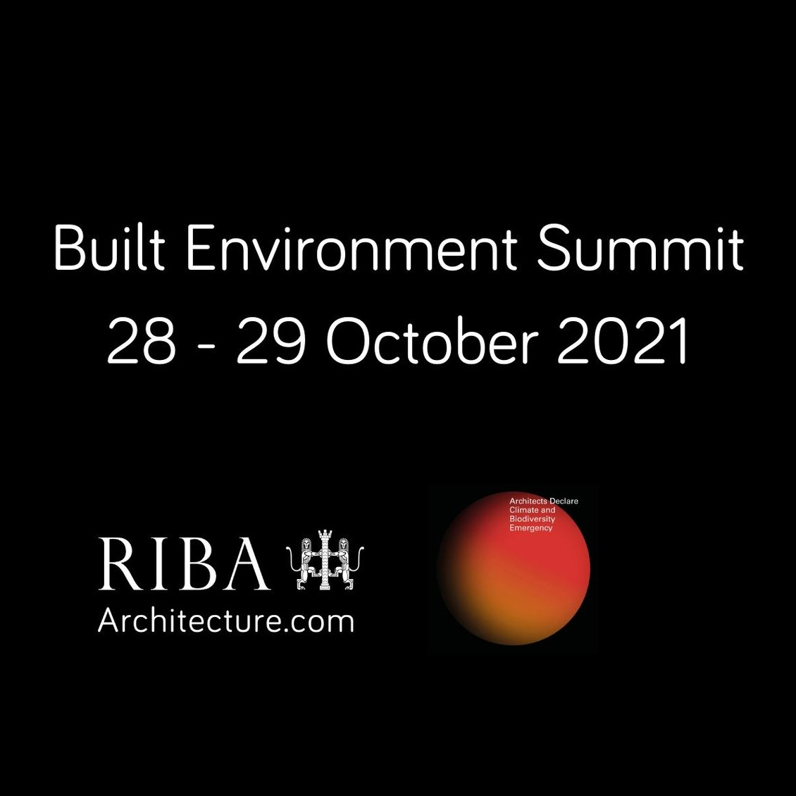 Built Environment Summit Open Call - ASBP Evidence