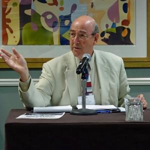 Ethics panel with Roy Harris