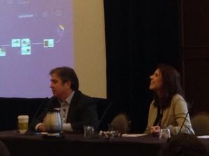 Mark Schlack and Susan Bamford present on e-zine innovation