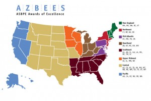 New Azbee regions map