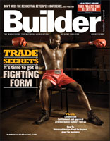 Cover image: Builder magazine