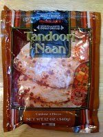 Photo: Frozen Tandoor Naan