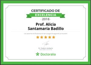 Certificado de Excelencia - Psicología - Tu Cita