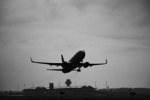 Un avión despegando - fobias