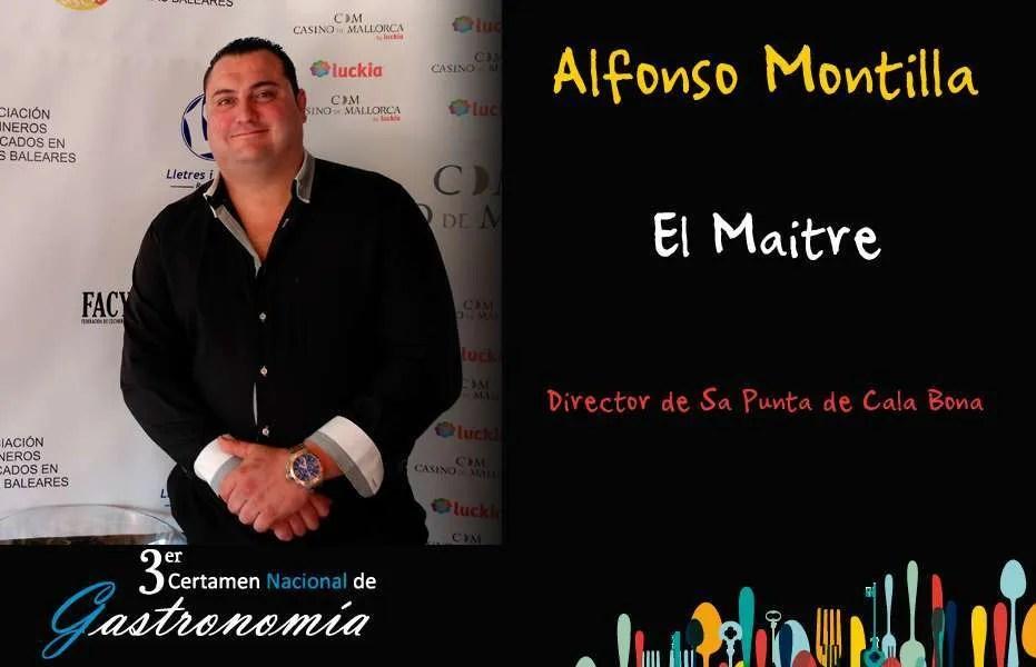 Alfonso Montilla – El Maitre
