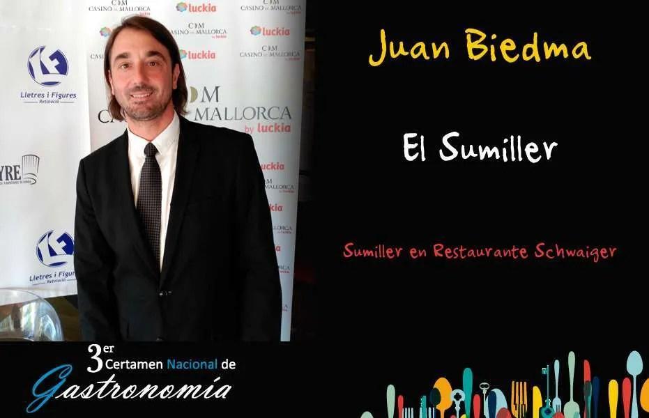 Juan Biedma - El Sumiller