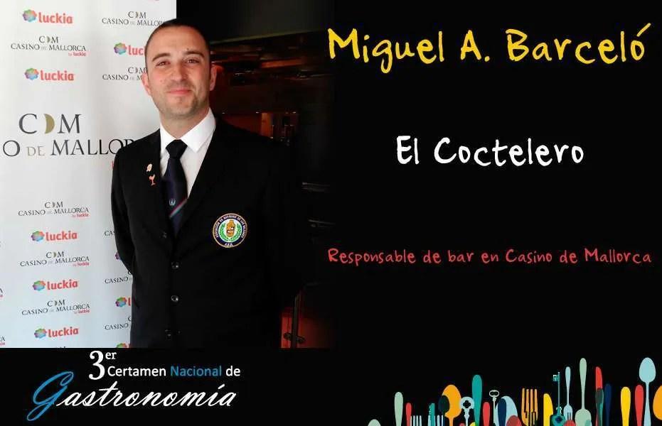Miguel Ángel Barceló – El Coctelero