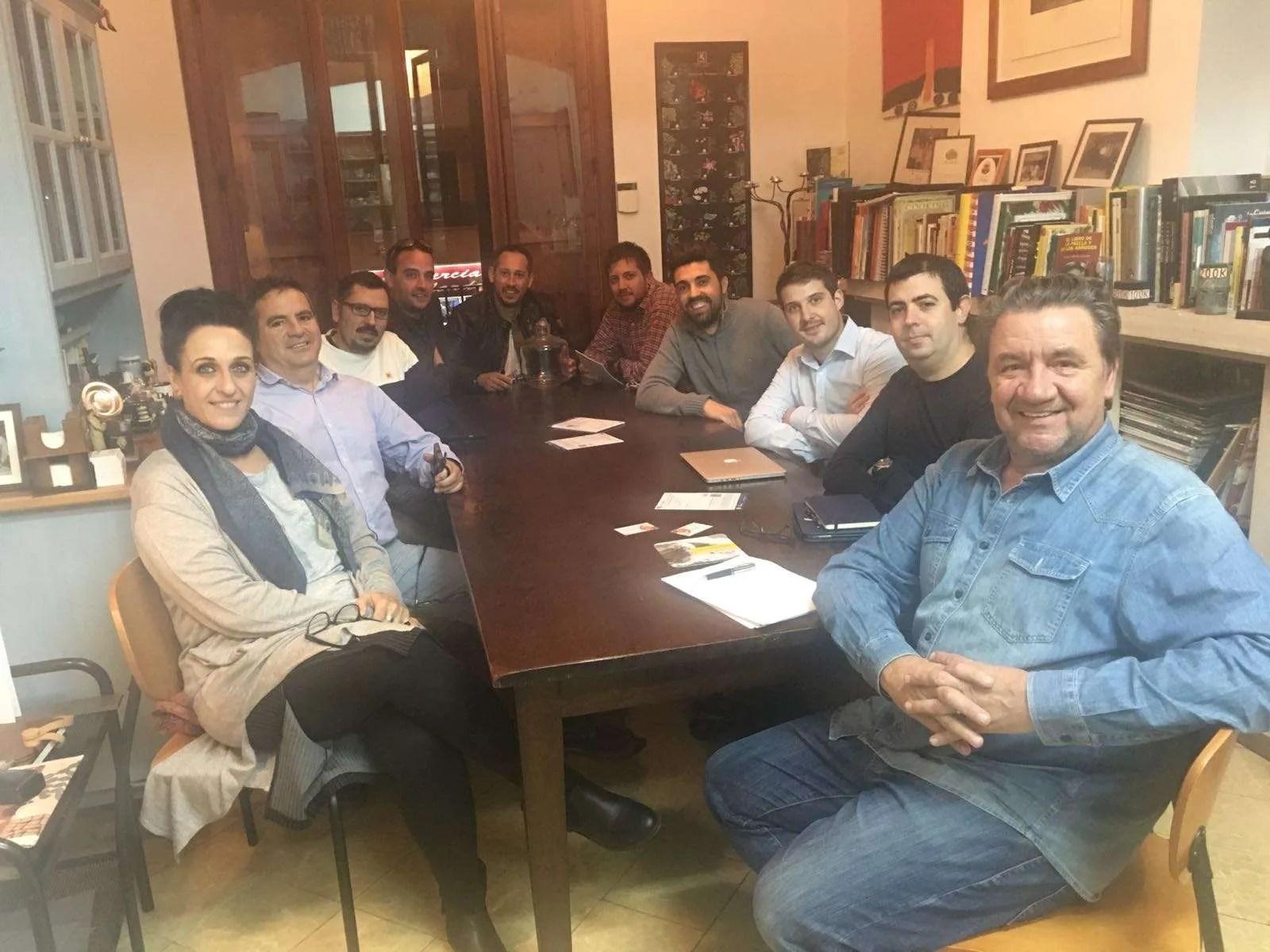 Reunión de junta ASCAIB