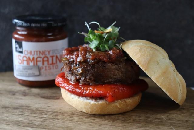 Mini hamburguesa de rabo de buey