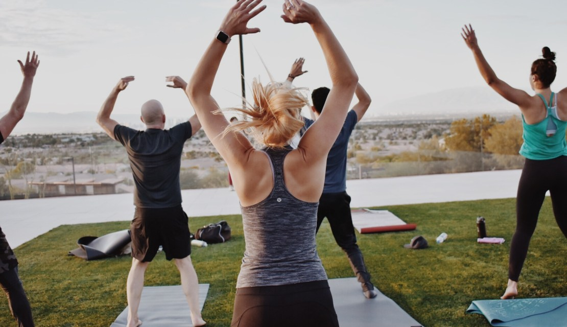 Sculpt at Sunset featuring Lululemon Green Valley