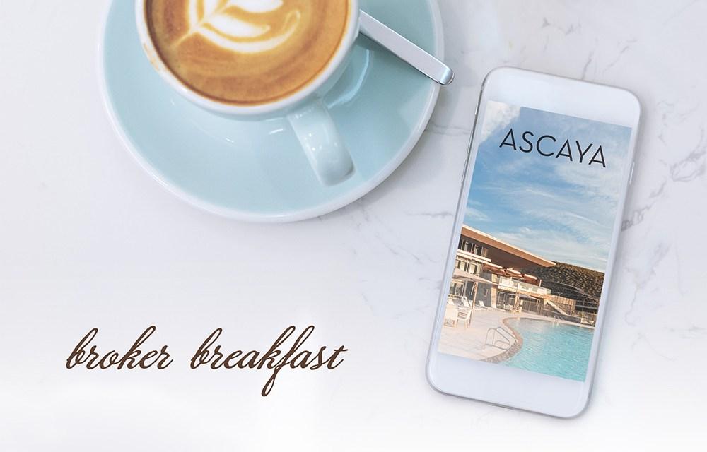 Broker Breakfast at ASCAYA