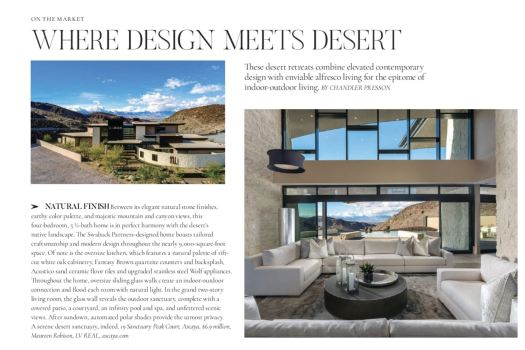 Vegas Magazine - Modern Luxury