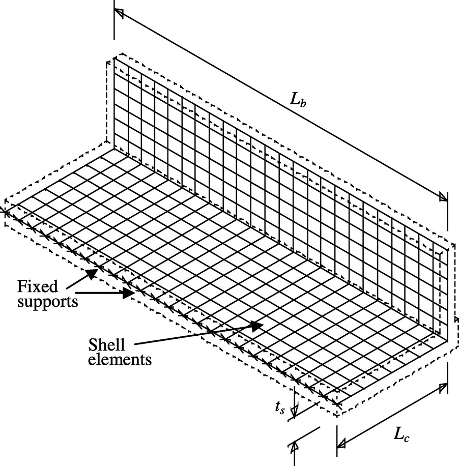 medium resolution of anchorage capacity of concrete bridge barriers reinforced with gfrp bars with headed ends journal of bridge engineering vol 19 no 9