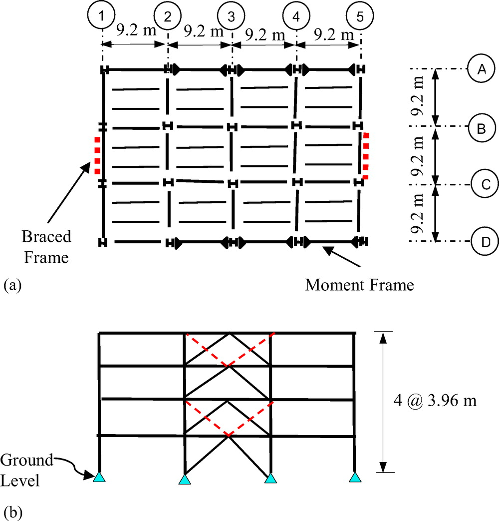 medium resolution of designs of special concentrically braced frame using aisc 341 05 and aisc 341 10 practice periodical on structural design and construction vol 21 no 1