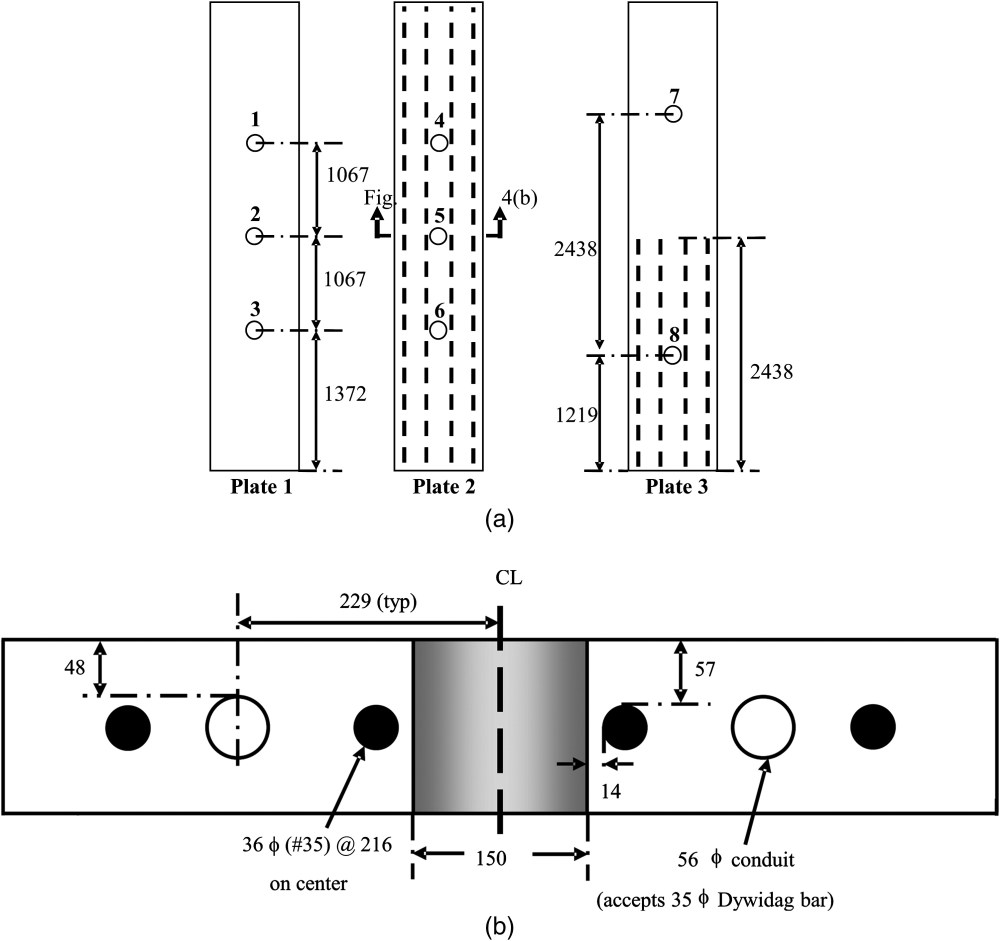medium resolution of experimental study of the core drilling method for evaluating in situ stresses in concrete structures journal of materials in civil engineering vol 28