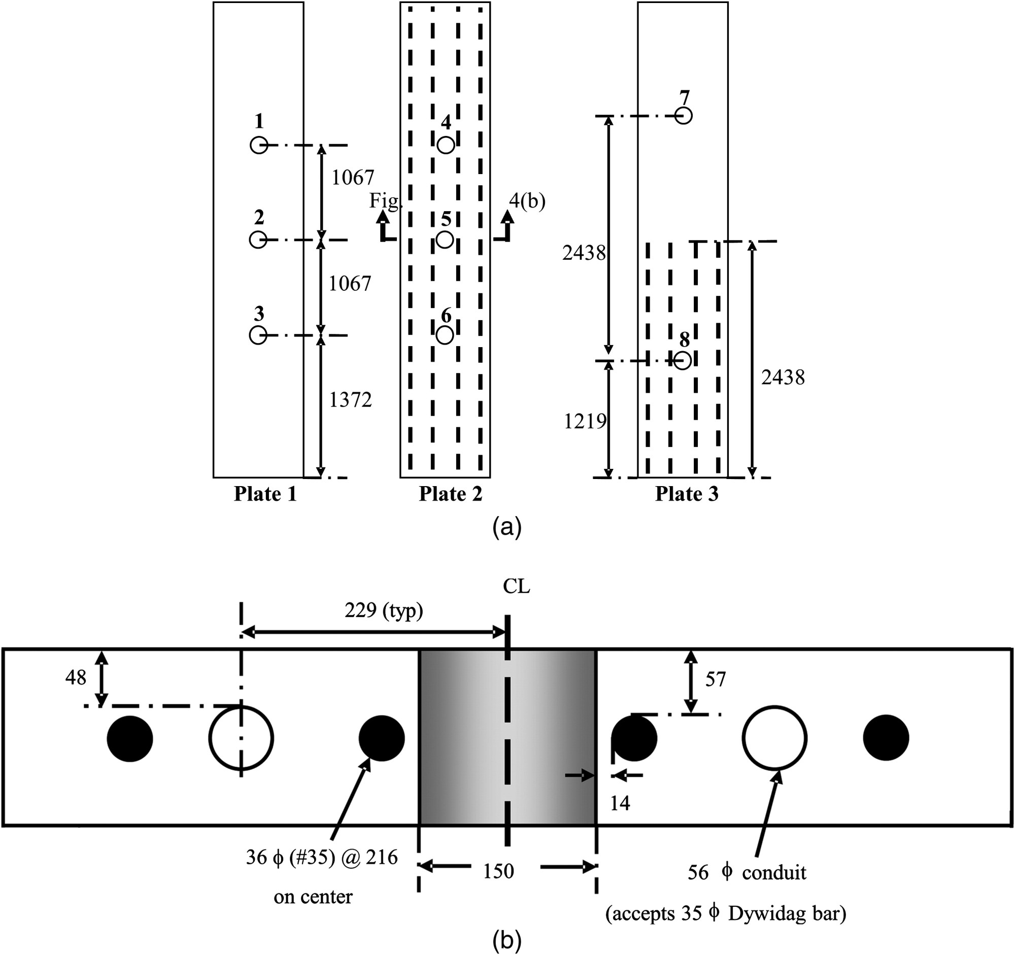 hight resolution of experimental study of the core drilling method for evaluating in situ stresses in concrete structures journal of materials in civil engineering vol 28