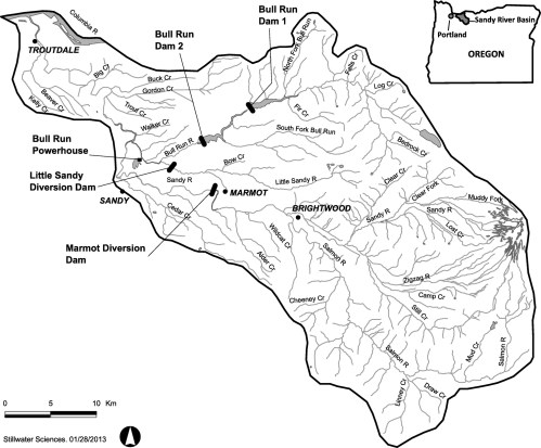 small resolution of lessons learned from sediment transport model predictions and long term postremoval monitoring marmot dam removal project on the sandy river in oregon