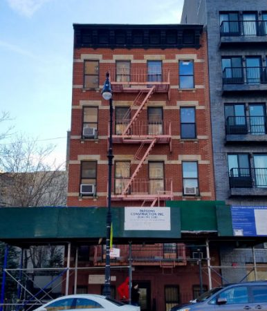 Photograph of 242 East 106th Street building.