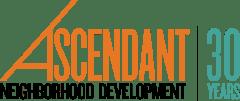 Ascendant Neighborhood Development 30th Anniversary Logo.