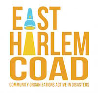 East Harlem Community Organizations Active in Disasters logo.