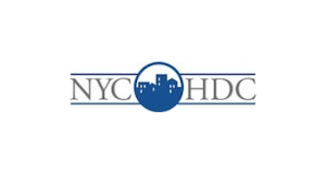 New York City Housing Development Corporation logo.