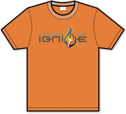 Orange Team Shirt Design