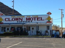 Terrifying And Creepy Clown Motel Scene Car