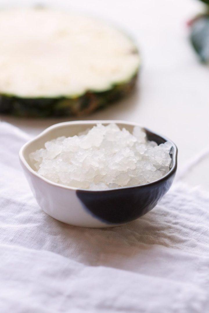 Pineapple Coconut Water Kefir - a fermented beverage