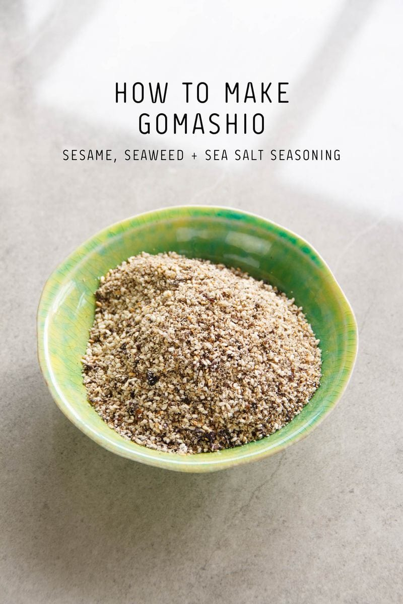 How to make Gomashio