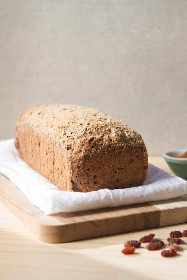 Gluten Free Fruit Spice Bread
