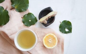 Kawakawa Tea with Ginger and Lemon