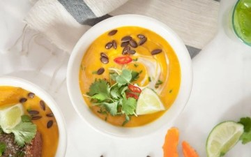 Anti-inflammatory Thai Pumpkin Soup with Turmeric