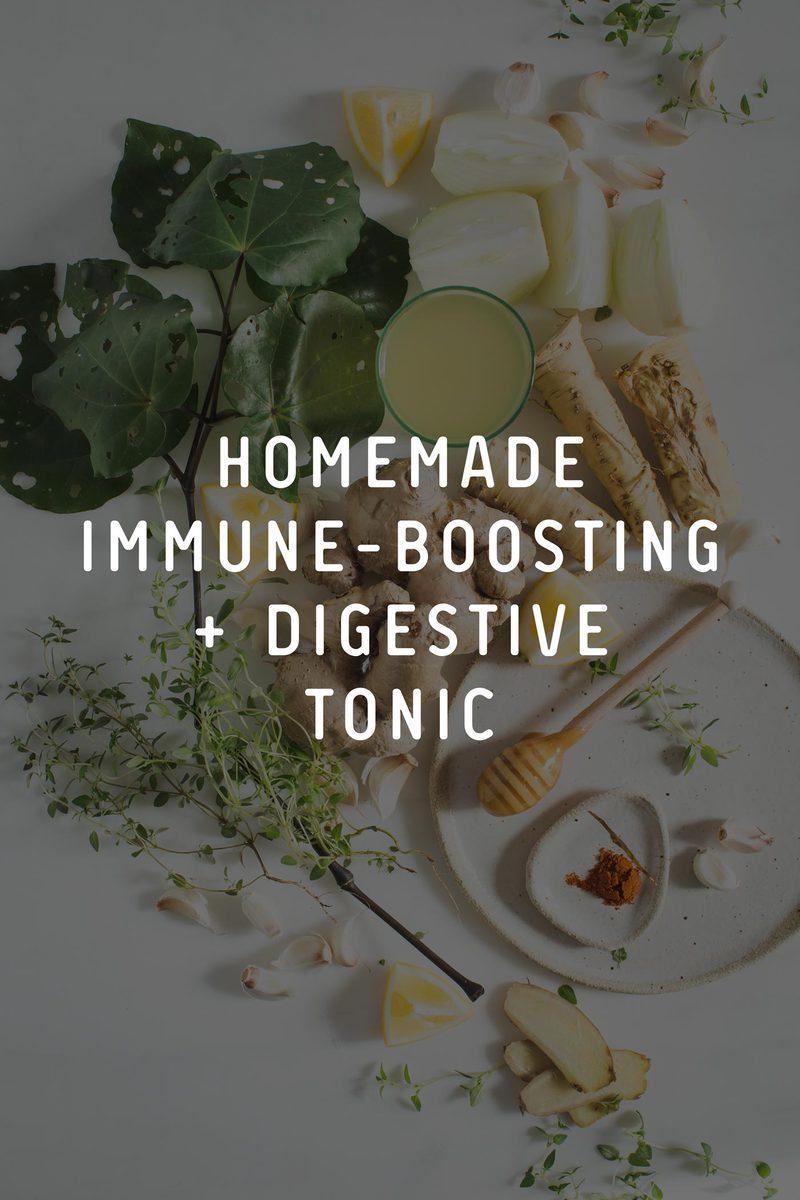 Homemade Immune-Boosting Digestive Tonic