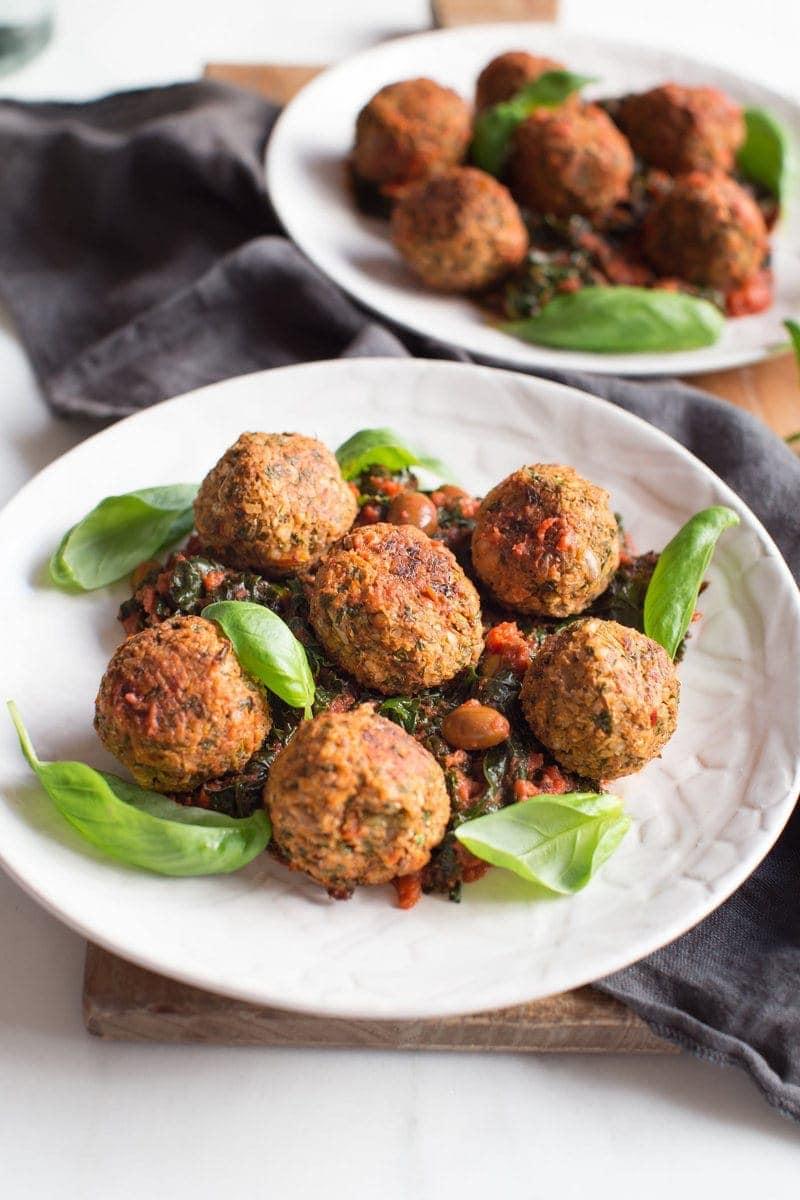 Easy Lentil Meatballs