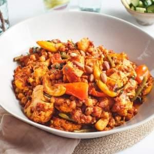 Spiced Chickpea Vegetable Tagine