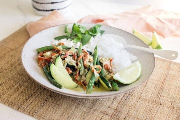 Vegan Thai Green Curry Ascension Kitchen