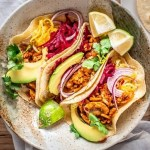 Vegan tacos with a perfectly spiced tempeh meat. #vegantacos #tacosrecipes #tacosideas #vegetariantacos #AscensionKitchen