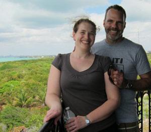 Jenny and Sam in Haiti
